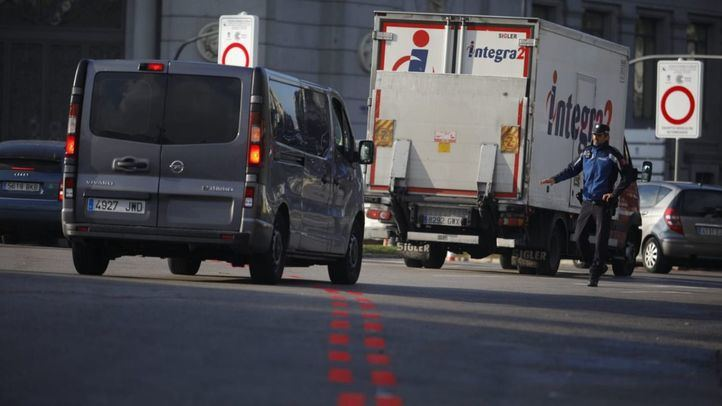 En estudio una moratoria a la prohibición de entrada a los camiones ligeros sin etiqueta