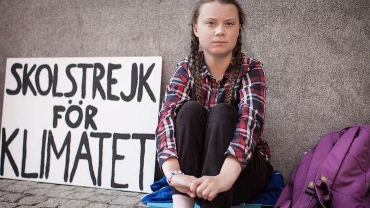 Greta Thunberg, activista contra el cambio climático.
