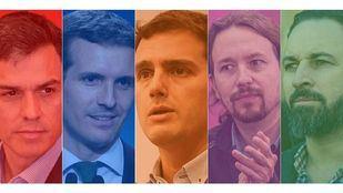 Candidatos a las próximas elecciones generales