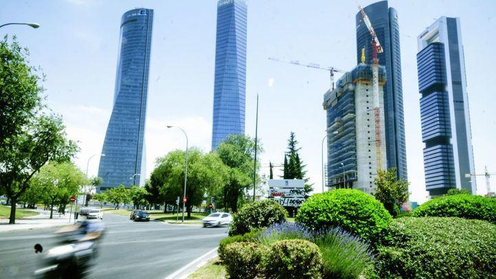 Torre Caleido en construcción