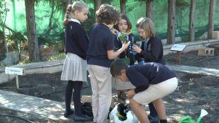 Aprender a hacer compost y casas sostenibles: los colegios se implican en la Educación Ambiental