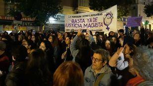 Protesta feminista contra la sentencia de 'la manada de Manresa' en Madrid