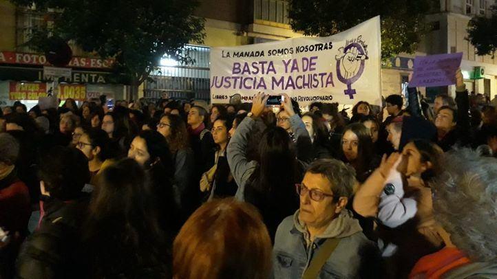 El movimiento feminista vuelve a la calle para protestar por la sentencia contr la 'Manada de Manresa'.