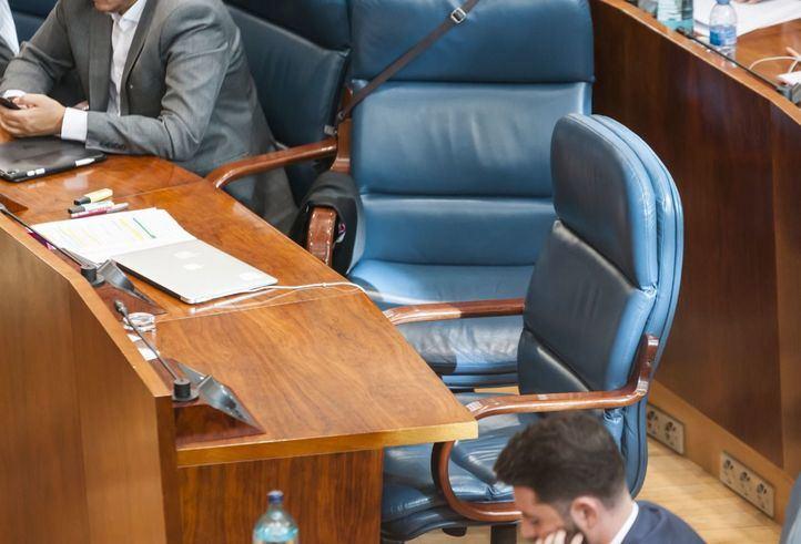 Iñigo Errejón ha dejado su silla en la Asamblea de Madrid tras seis meses como líder de Más Madrid