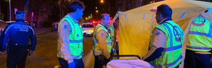 Muere atropellada una mujer en Usera cuando cruzaba por un lugar indebido