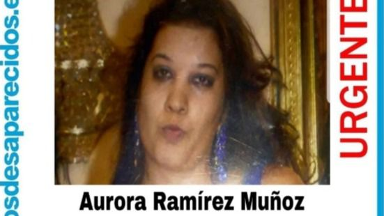 Aurora Ramírez Muñoz, desaparecida en Madrid