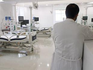 Personal médico de la Unidad de Cuidados Intensivos (UCI) del Hospital Universitario infantil Niño Jesús.