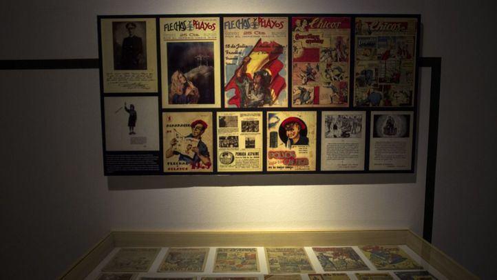 El Centro Conde Duque acoge la muestra 'Los tebeos de la posguerra'