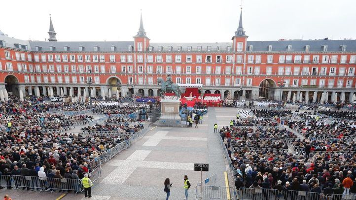 Misa en honor a la Virgen de la Almudena en Madrid