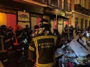 Un incendio en el Barrio de las Letras deja inhabilitada una vivienda