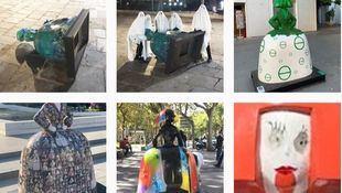 'Stop Meninas': una cuenta de Instagram celebra que las figuras sean vandalizadas