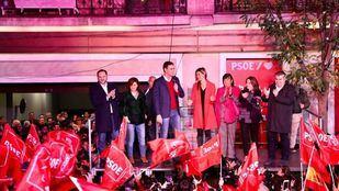El PSOE, líder en un bloque de izquierdas dividido e insuficiente