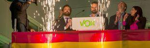 Vox celebra los resultados de las elecciones generales del 10-N