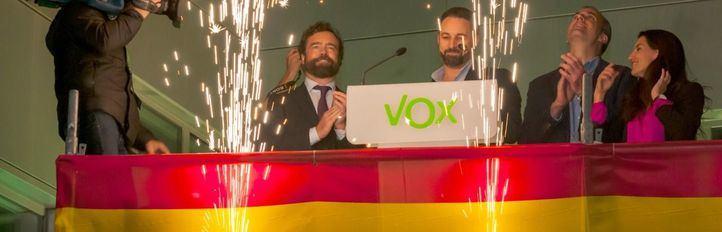 La 'alternativa patriótica' de Vox seduce a la derecha desencantada con Cs