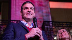 Pedro Sánchez, ganador de las elecciones