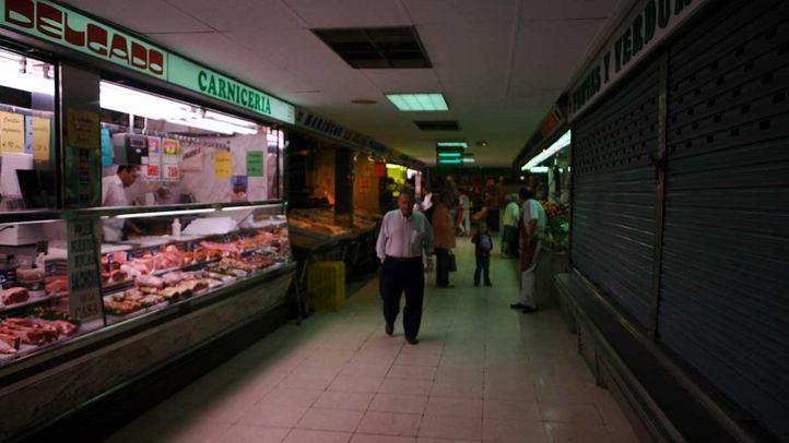 Precintado el Mercado de la Elipa para proceder a su cierre definitivo