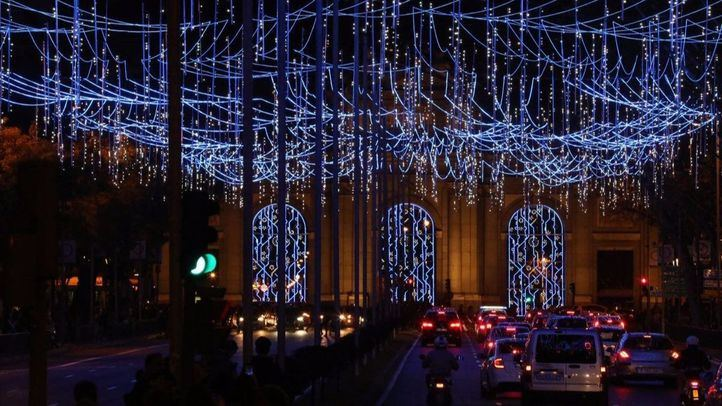 Madrid encenderá sus luces navideñas el 22 de noviembre