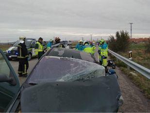 Un accidente de tráfico en Torrejón de Velasco se salda con dos fallecidos