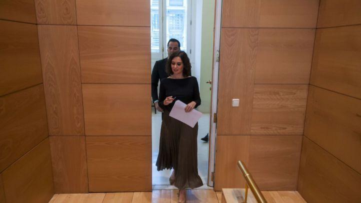 Isabel Díaz Ayuso denuncia las 'ansias de la izquierda' por 'atacar' con la Comisión de Investigación de Avalmadrid