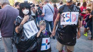 Vallecas apela a su propia 'emergencia sanitaria' para no recibir la basura del Este
