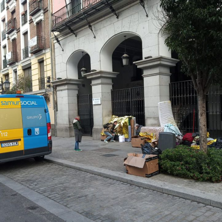 El centro para refugiados de Cercedilla se llena en pocos días