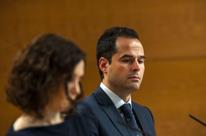 Ignacio Aguado y su formación política, Ciudadanos, podrían valorar un viraje en la política madrileña