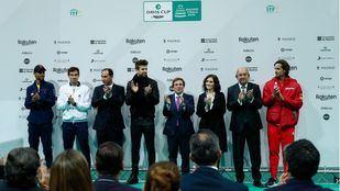 Acto de presentación de la Copa Davis en el que Almeida ha anunciado que Madrid aspirará a ser Capital Mundial del Deporte en 2020.
