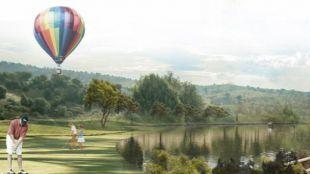 Campo de golf en Tres Cantos