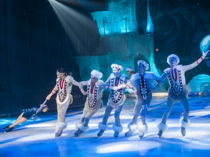 'Circo de hielo 2': espectáculo, patinaje, y ambiente navideño