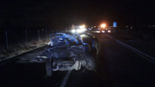Un fallecido y una herida en una colisión en Villanueva del Pardillo