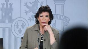 Isabel Celaá, ministra de Educación y Formación Profesional en funciones