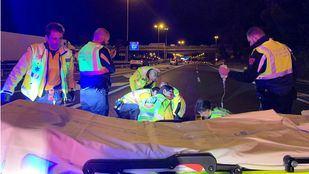 Dos personas resultan heridas en un accidente en la M-30