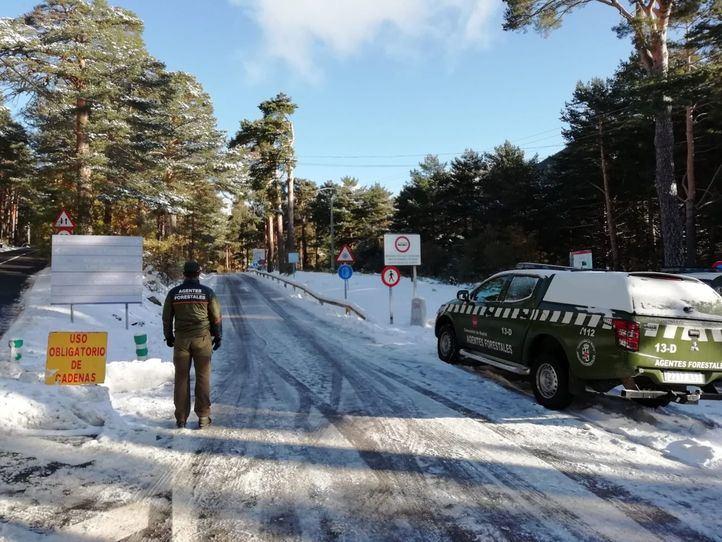 AEMET avisa: la probabilidad de nieve en cotas de 1.500 m. se extiende durante todo el domingo