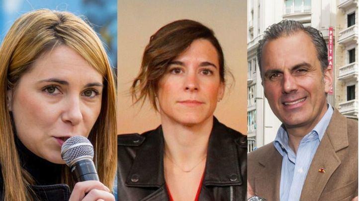 Mar Espinar, Sofía Miranda y Ortega Smith, en Onda Madrid