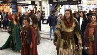 El Corte Inglés acoge a un flashmob del musical 'El Médico'