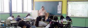 Clases sin cubrir por falta de profesorado interino