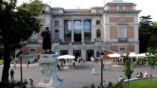 Un 'doodle' y un recital de Camarena abren la celebración del bicentenario del Museo del Prado.