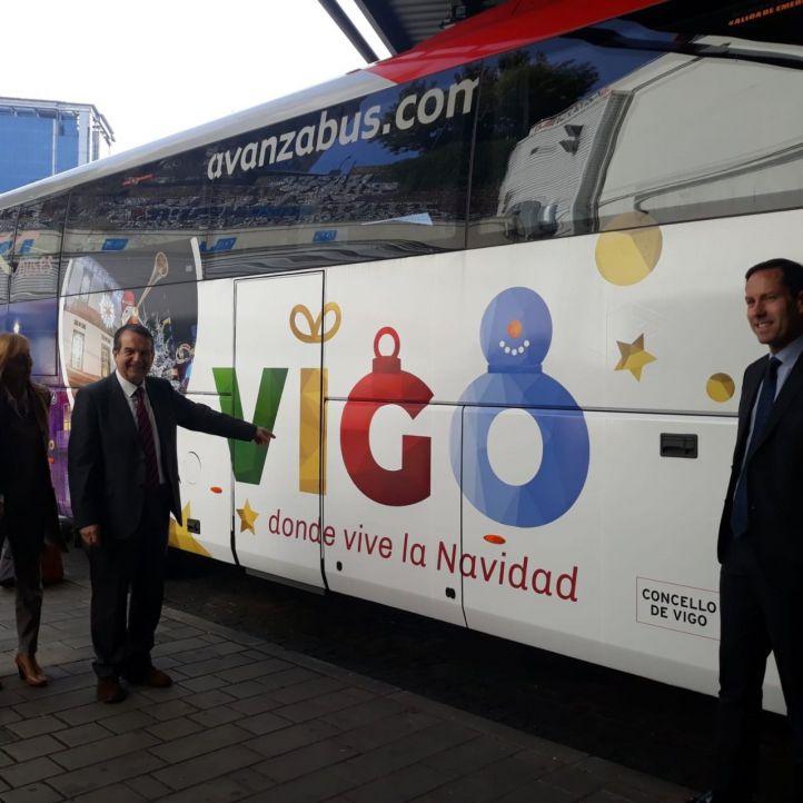 El alcalde de Vigo ensalza sus luces de Navidad:
