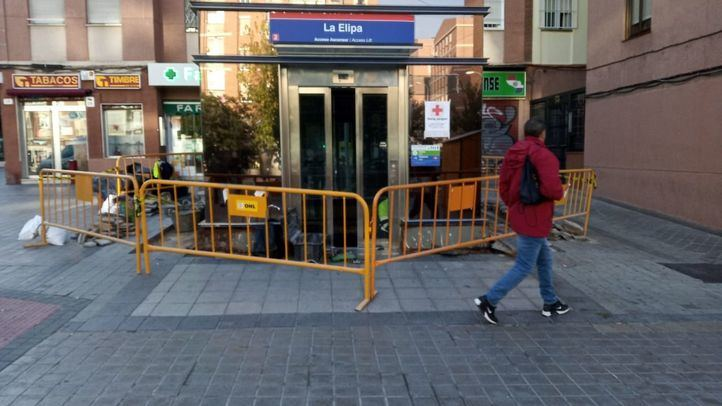 El ascensor de La Elipa vuelve a cerrarse.
