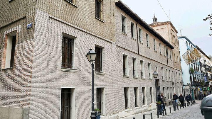El convento de San Plácido recupera su fachada original