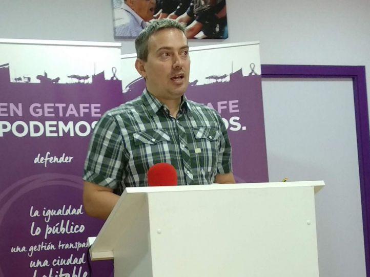 Dimite y deja sus funciones el concejal de Podemos Daniel Pérez
