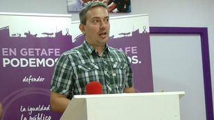 El que fuera concejal de Podemos y secretario general del partido en Getafe, Daniel Pérez Pinillos.