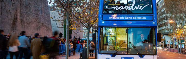 Un Naviluz menos contaminante vuelve a la calle a partir del 29 de noviembre