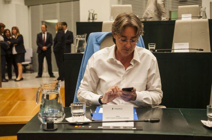 Marta Higueras, portavoz de Más Madrid en el Ayuntamiento.