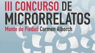 Cartel del III Concurso de Microrrelatos.