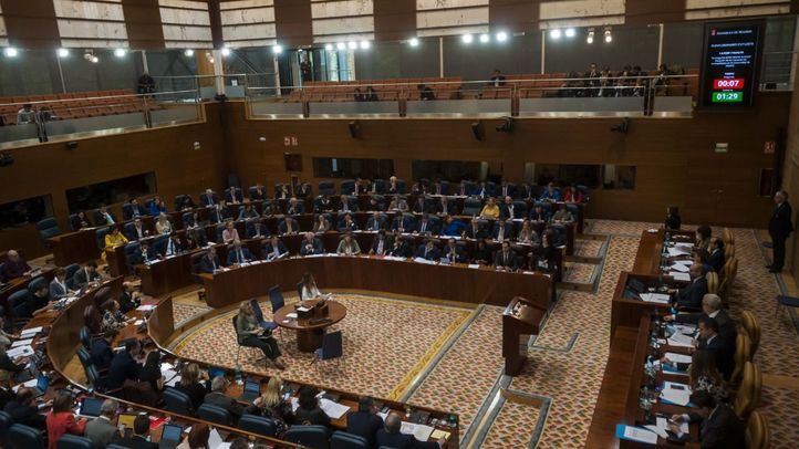 La Asamblea, con el rechazo de Vox, pide que se desarrolle el Pacto de Estado contra la violencia de género