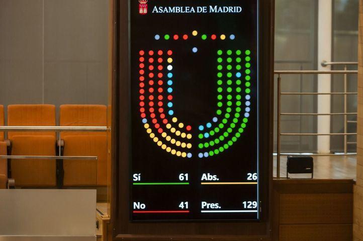 La Asamblea insta al Gobierno central a trasladar los restos de Primo de Rivera