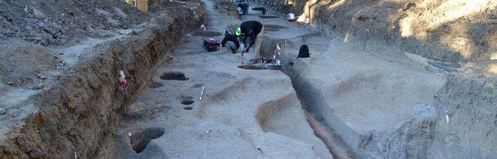Un posible campamento romano del siglo I, hallado en el campus de Somosaguas