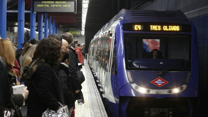 Paros parciales en el Metro