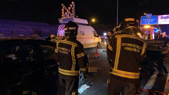Un policía ebrio fuera de servicio, implicado en el accidente de la M-45